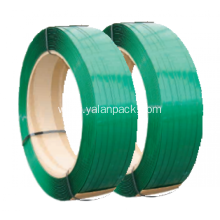 China for Thickness Packing Material Pet Strap High strength Green PET strapping export to Chile Importers